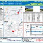 飯田市アトムタウン水城 全8区画分譲地!723.8万円(65.76坪)
